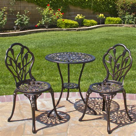 patio cast aluminum patio set home interior design