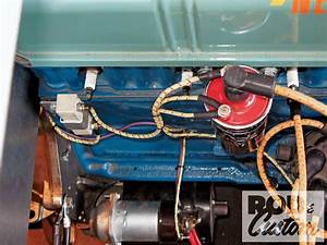 American Autowire Nostalgia Wiring Kit - Modern Spark    In An Old-timey Suit