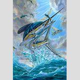 White Marlin Jumping   599 x 900 jpeg 112kB