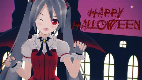 Mmd Happy Halloween Hatsune Miku Youtube
