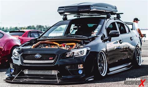 Custom Subaru Wrx Sti (modified) Black Modifiedx