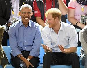 Barack Obama quizzed Prince Harry about his relationship ...
