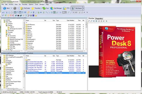 powerdesk pro   ultimate file manager  windows