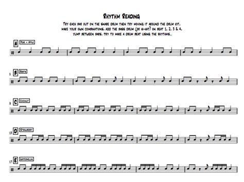 reading rhythm exercises  tbrads teaching resources