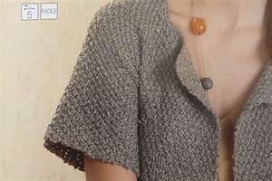 Modele De Tricotin Facile : modele tricot facile modele de gilet en tricot gratuit ~ Melissatoandfro.com Idées de Décoration