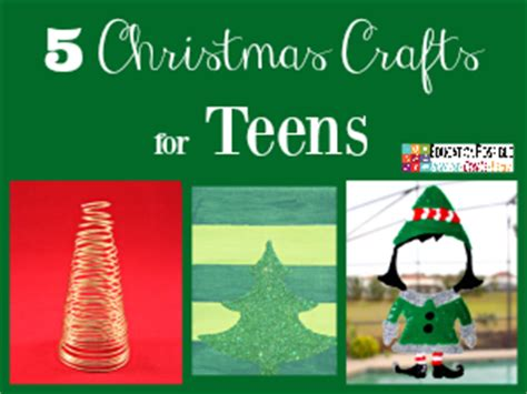 simple  affordable christmas crafts  teens