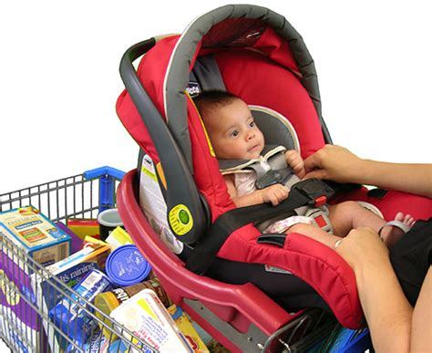 How To Put A Car Seat On A Shopping Cart