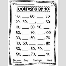 First Grade Math Unit 11 Comparing Numbers Skip Counting And Number Order  Comparing And