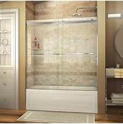 Shower And Tub Enclosures Lowes by Shop DreamLine Essence 60 In W X 60 In H Frameless Bathtub Door At