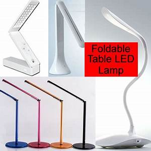 qoo10 foldable usb led table lamp flexible bedside desk With table lamp qoo