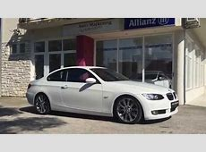 BMW 320D COUPE 2009 WHITE YouTube