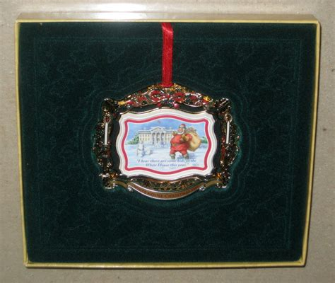 2011 white house christmas ornament theodore teddy