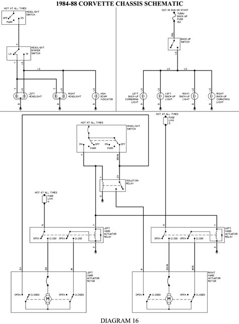Interior Light Wiring Diagram For 1993 Corvette by Repair Guides