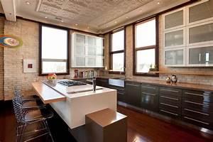 Warehouse, Loft, Condo, -, Contemporary, -, Kitchen, -, Other
