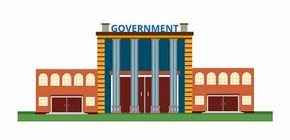 Government Building Clipart Clip Cartoon Office Governement