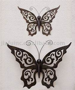 Metal wall decor everything butterfly i
