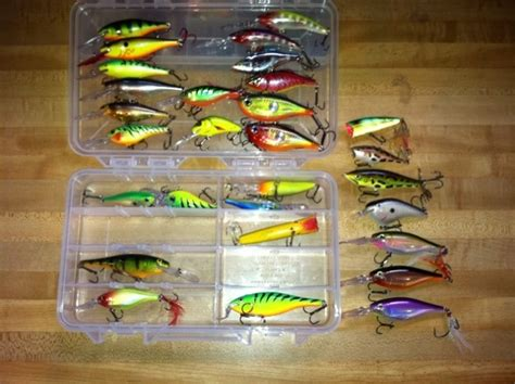 bwca favorite hard baits  summer boundary waters