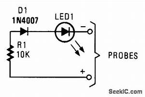 ac voltage probe electrical equipment circuit circuit With simple emf probe