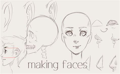 making faces tutorial  twin tail  deviantart