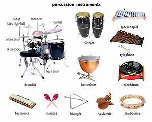 percussion instruments | Language | Pinterest | English ...