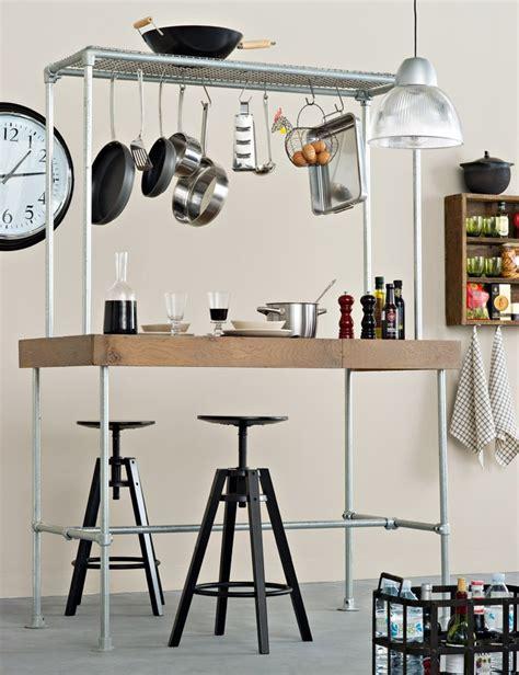 creer un bar dans une cuisine un bar modulable dans la cuisine