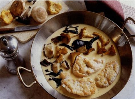 patrelle cuisine recette le ris de veau aux chignons sauvages