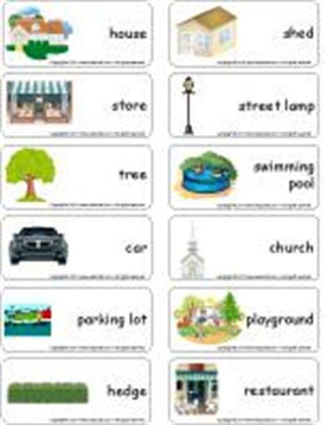 my neighbourhood theme and activities educatall