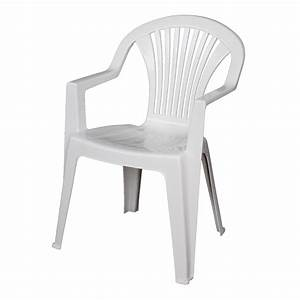 Fauteuil Plastique Jardin : chaise de jardin plastique bricorama ~ Teatrodelosmanantiales.com Idées de Décoration