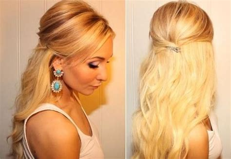 Short Hairstyles Middle Part