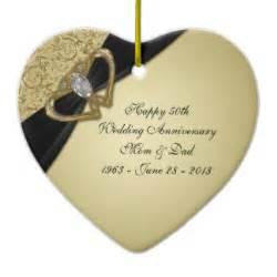 fiftieth wedding anniversary 50th wedding anniversary gifts zazzle