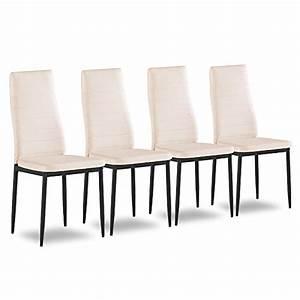Küchenstühle 4er Set : 4er set esszimmerstuhl k chenst hle polsterstuhl stuhlgruppe m ~ Indierocktalk.com Haus und Dekorationen