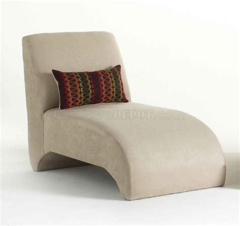 chaise microfibre microfiber fabric modern chaise lounger