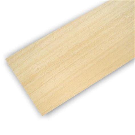 planche en bois de balsa 100 x 1000 x 10 mm artesania