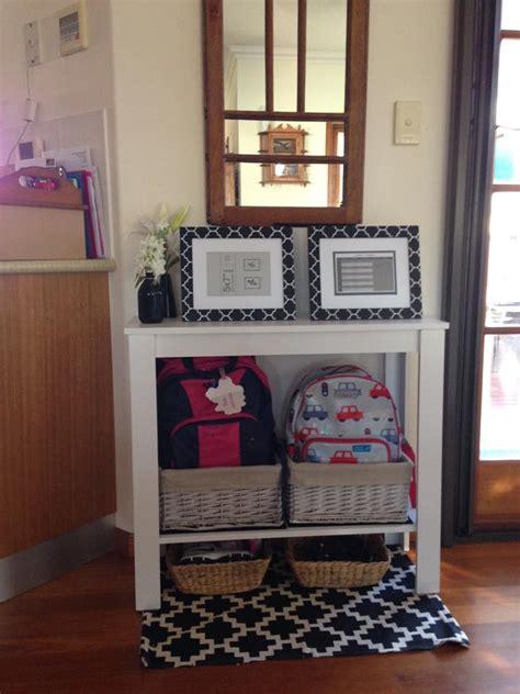 practical school bag storage ideas  organised