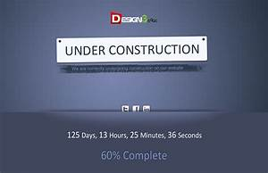 creative under construction template design3edgecom With simple under construction html template
