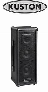Kustom Pa50 Speakers Owner U0026 39 S Manual Pdf View  Download