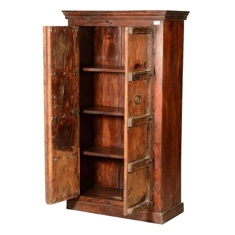 Wood Armoire Wardrobe by Rustic Traditions Reclaimed Wood Wardrobe Armoire