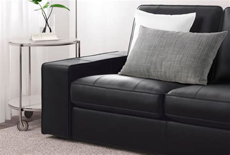 canape ikea cuir leather sofas traditional contemporary ikea