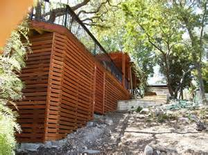 deck skirting out back ideas