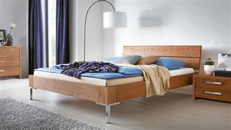 eiche massivholzbett oak  modernes design bett von hasena