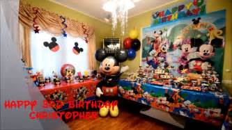 table center pieces christopher mickey mouse birthday party