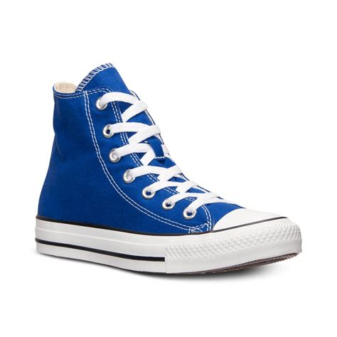 High Top by Converse Mens Chuck High Top Casual Sneakers From