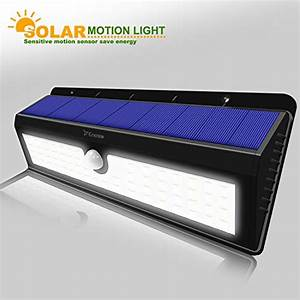 Solar powered led dusk to dawn waterproof motion sensor