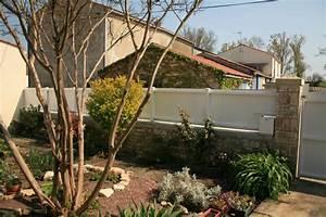 Palissade De Jardin : cloture opaque jardin grillage en rouleau chromeleon ~ Melissatoandfro.com Idées de Décoration