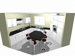 Vente Ilot Central Cuisine : taille cuisine avec ilot central perfect cuisine en ilot ~ Premium-room.com Idées de Décoration