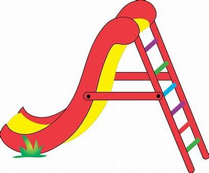 Slide Clipart Cliparts Cartoon Playground Clip Slides