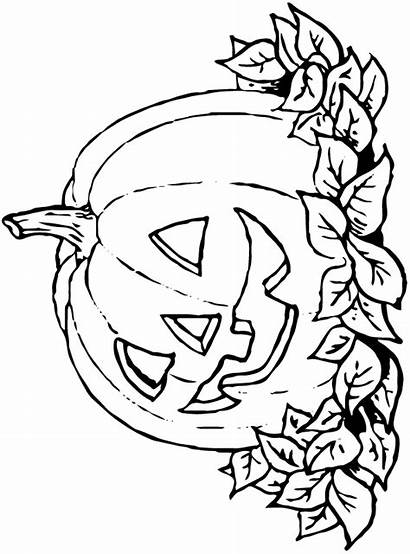 Halloween Coloring Fun Pages Theme Kleurplaatjes