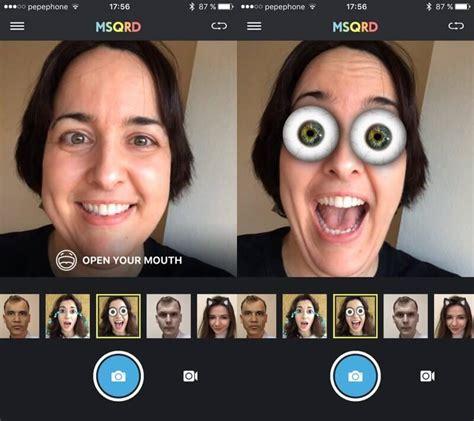 msqrd app   entertaining face filter app  stores