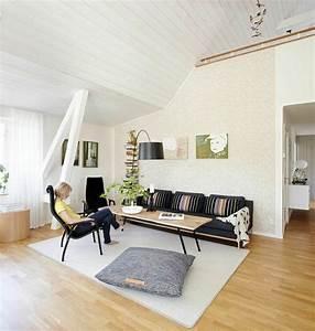 idee deco salle a manger salon pour tous les gouts With tapis de sol avec coussin pour canape interieur