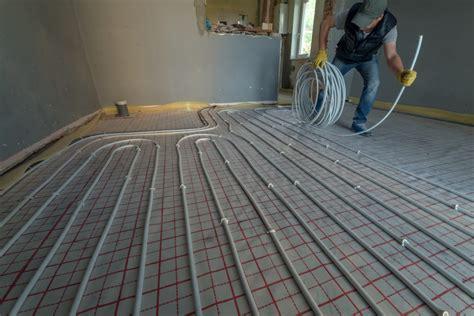 installation chauffage par le sol m 233 thodes et infos sur les prix